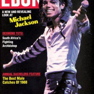 Michael Jackson Graced Cover Of EBONY Magazine In June 1988