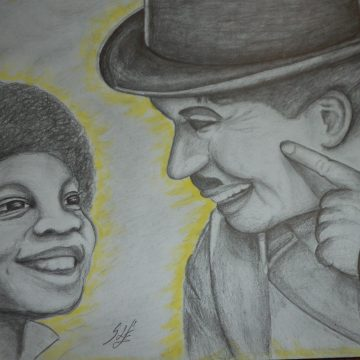 Smile – Little Michael and Charlie Chaplin