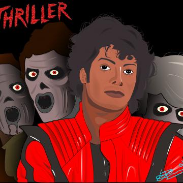 Thriller digital illustration