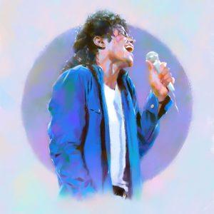 Artwork Captures Essence Of MJ's Emotional Live Performances