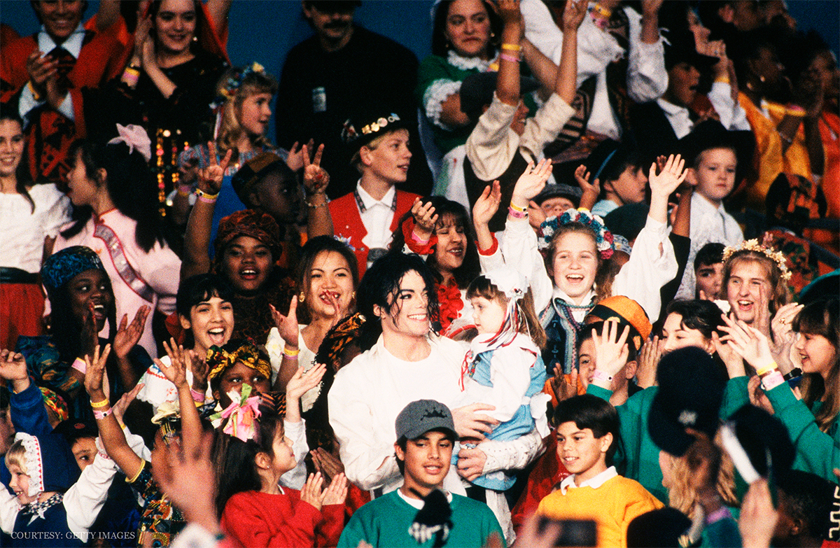 Michael Jackson Raised Millions Of Dollars To Help Others