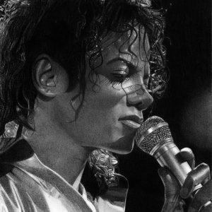 Check Out This Drawing Of MJ Performing On His Bad World Tour