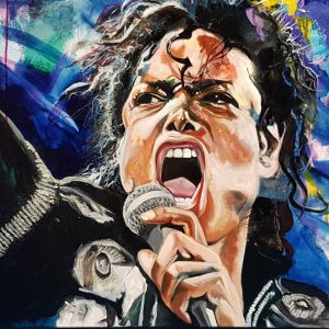 Check Out Fan Artwork Of MJ On Bad World Tour