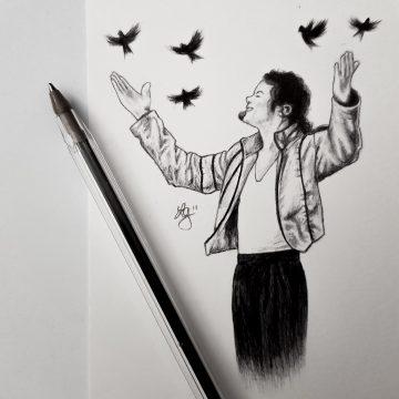 Heal The World, Biro Pen Drawing