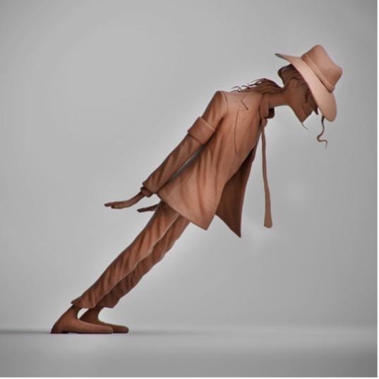 Artist Captures MJ's 'Smooth Criminal' Lean
