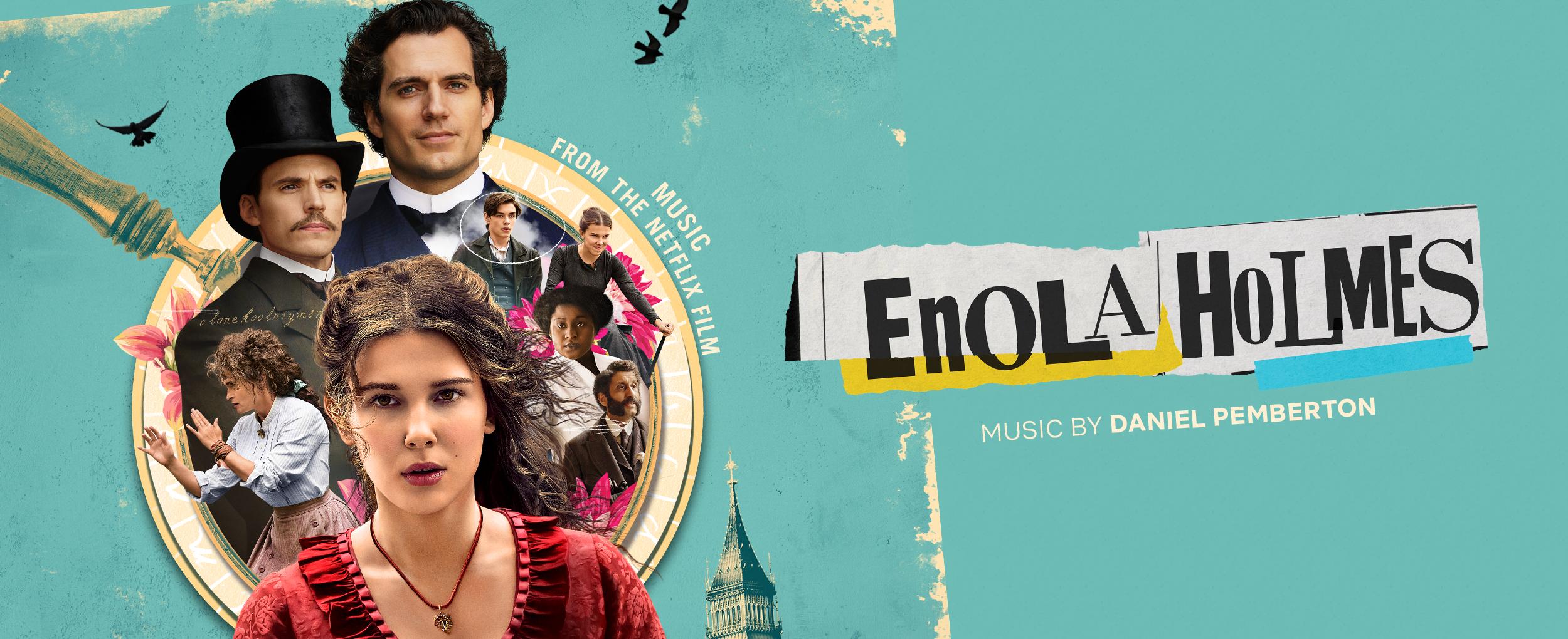 Enola Holmes - Slider Banner