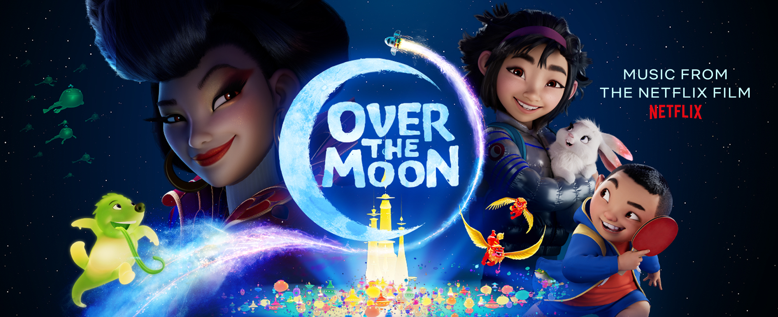 Over The Moon - slider banner