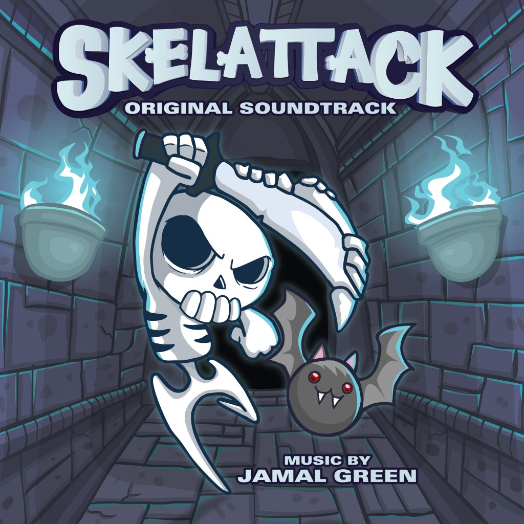 Skelattack – cover art – jamal green