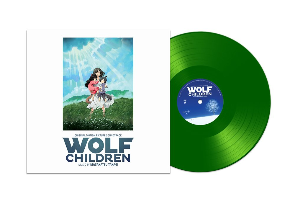 Wolf Children - Vinyl Packshot