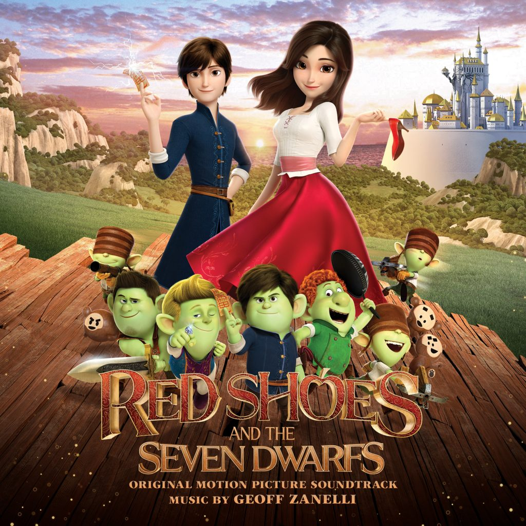 Red Shoes and the Seven Dwarfs - Cover Art