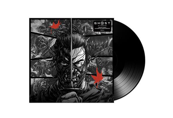 Ghost of Tsushima - vinyl packshot