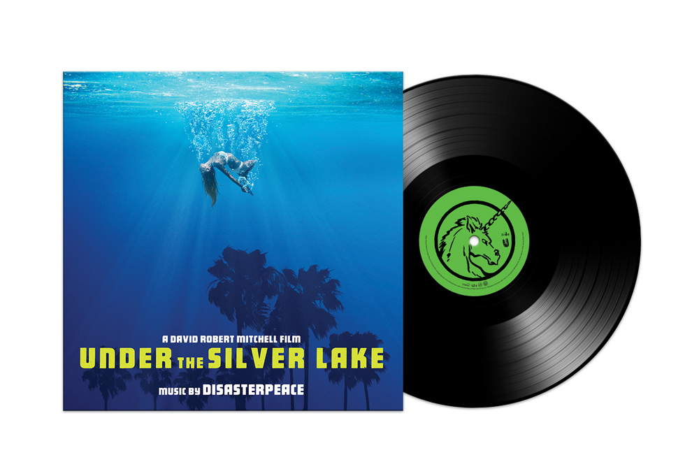 Under the Silver Lake - Vinyl Packshot