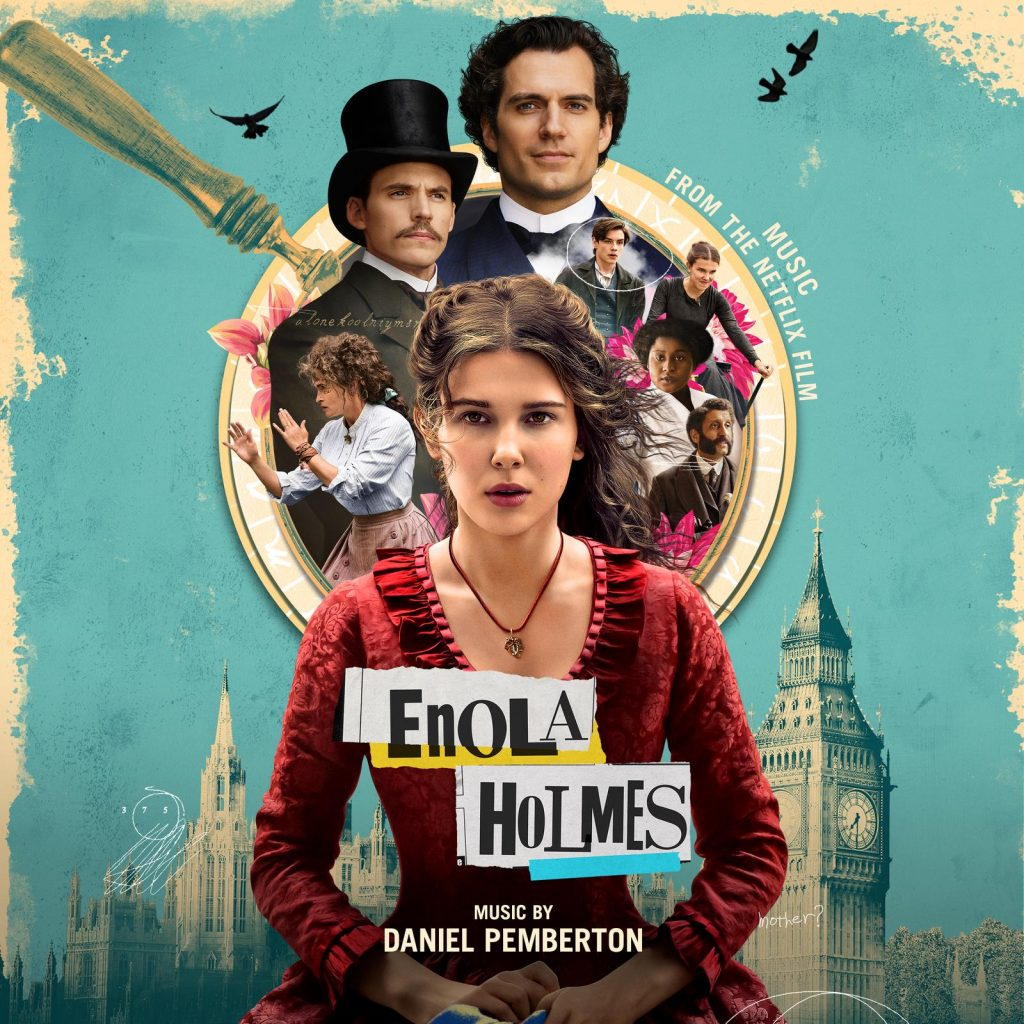 Enola Holmes - Album Art