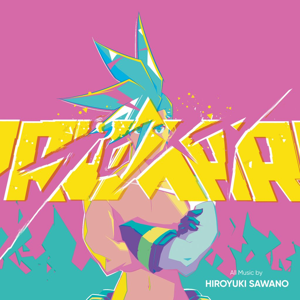 Promare - Album Cover Art
