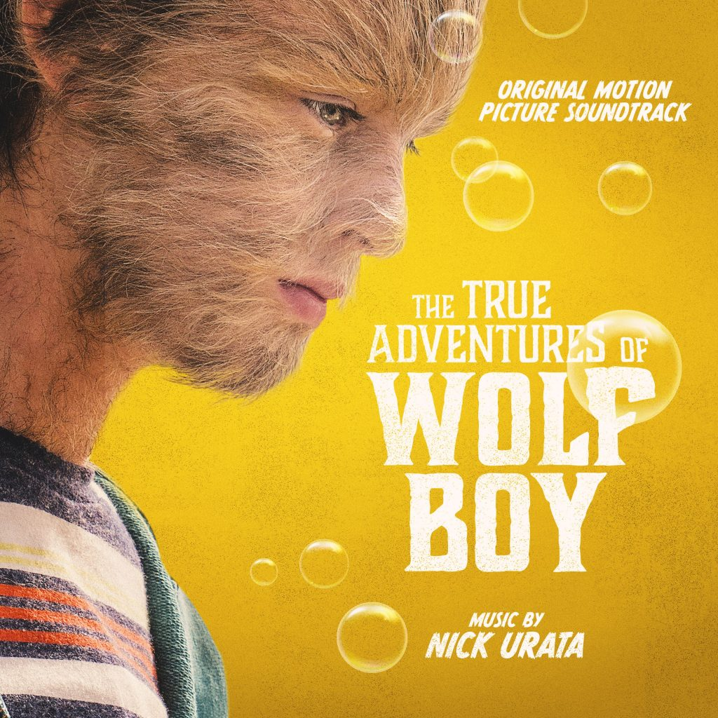The True Adventures of Wolfboy - Cover Art