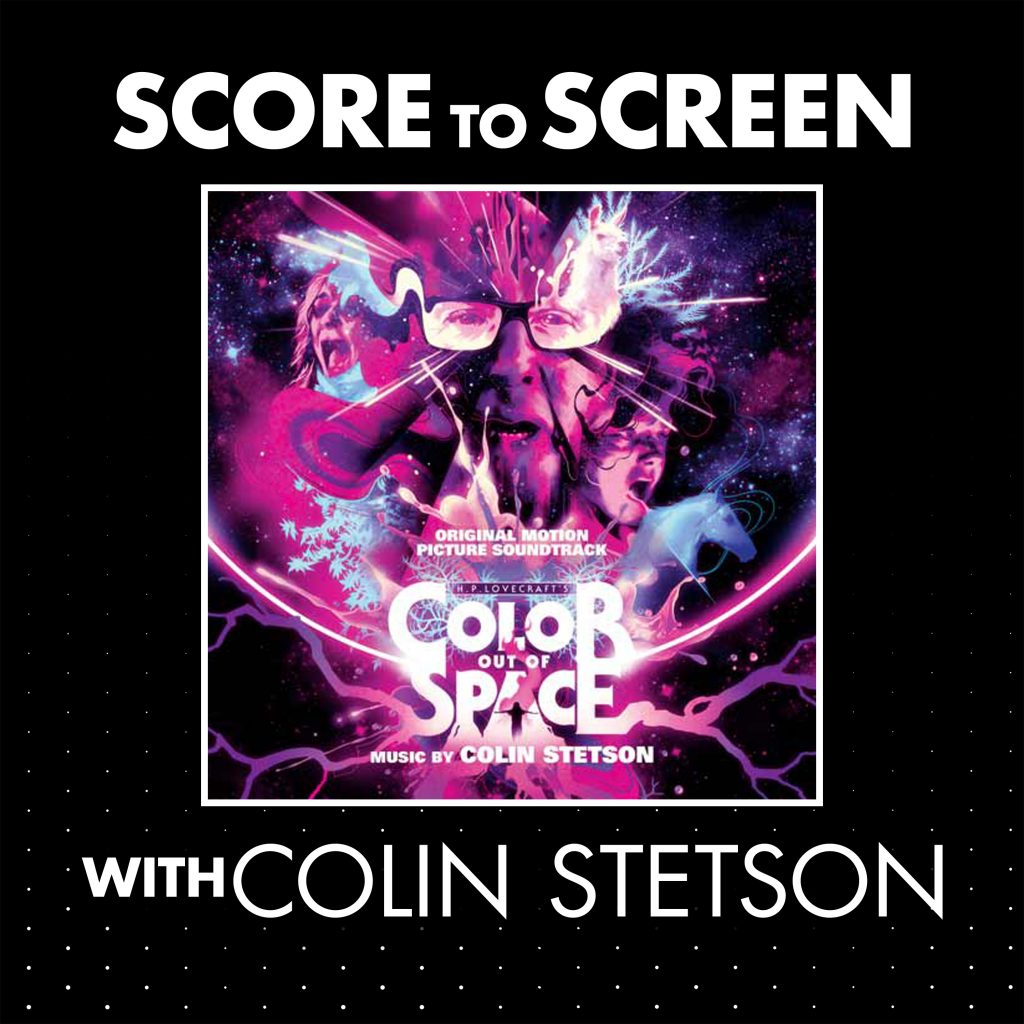 Score to Screen with Colin Stetson (Color Out of Space) Cover
