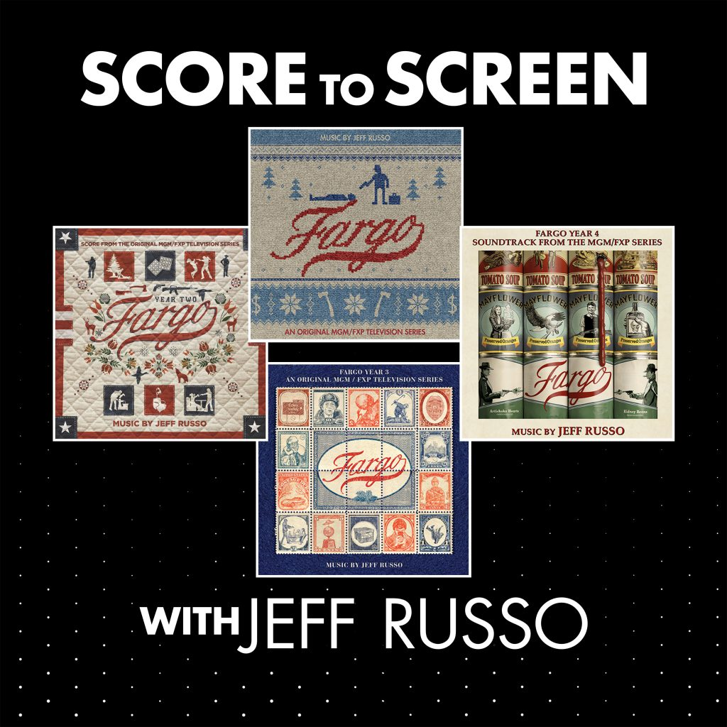 Score to Screen with Jeff Russo - Cover