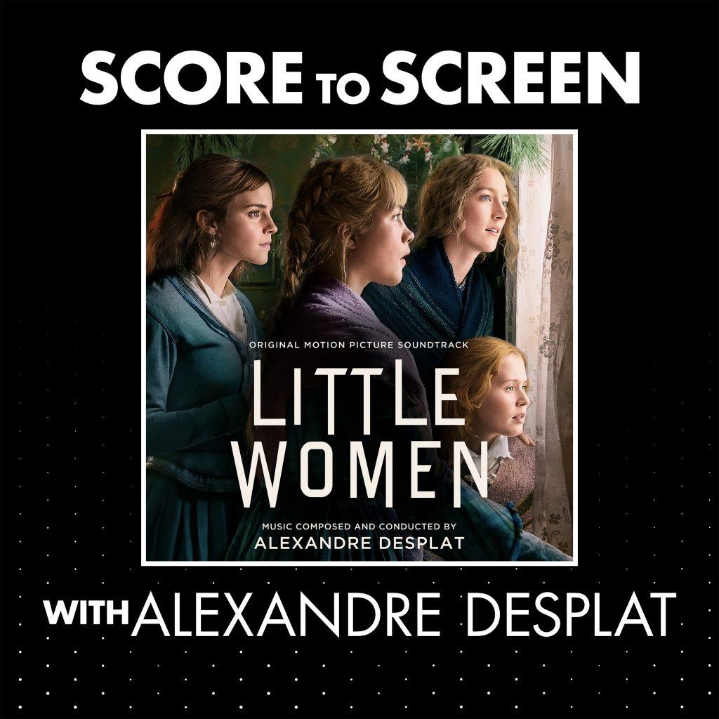 Score to Screen with Alexandre Desplat (Little Women) cover