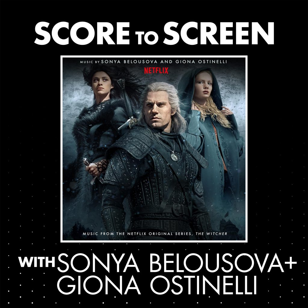 Score to Screen with Sonya Belousova & Giona Ostinelli (The Witcher) Cover