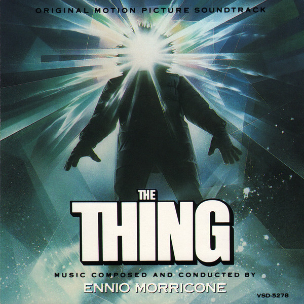 The Thing - soundtrack cover art