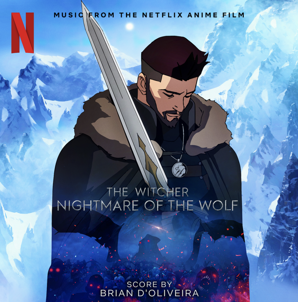 The Witcher Nightmare of the Wolf Cover Art