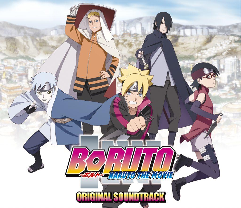 BORUTO -NARUTO THE MOVIE- ORIGINAL SOUNDTRACK