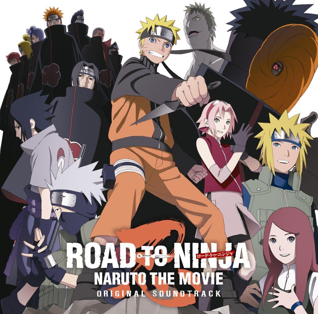 NARUTO SHIPPUDEN THE MOVIE - ROAD TO NINJA ORIGINAL SOUNDTRACK.