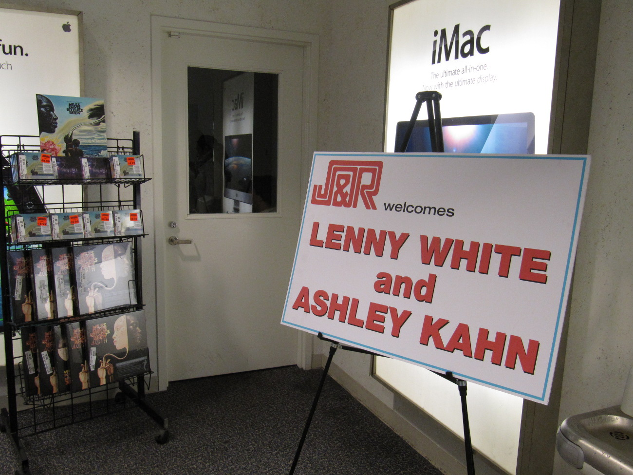J&R Welcomes Lenny White and Ashley Kahn