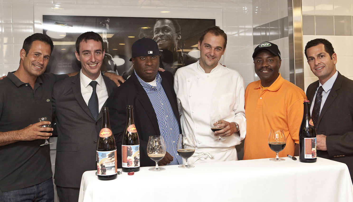Its a celebration, Eleven Madison Park Bitches Brew
