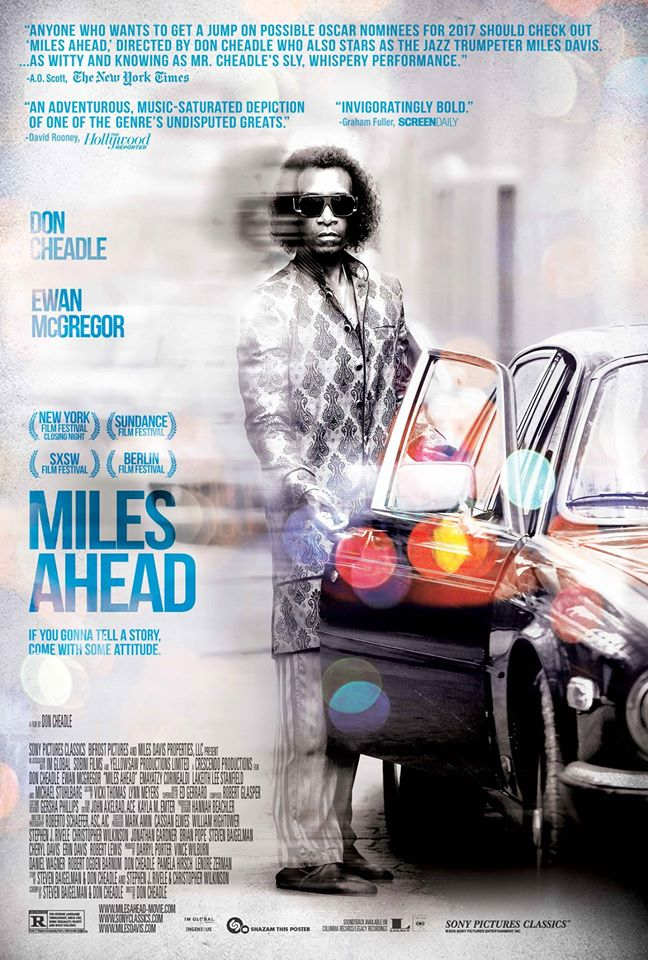 Official 'Miles Ahead' Poster Debuts
