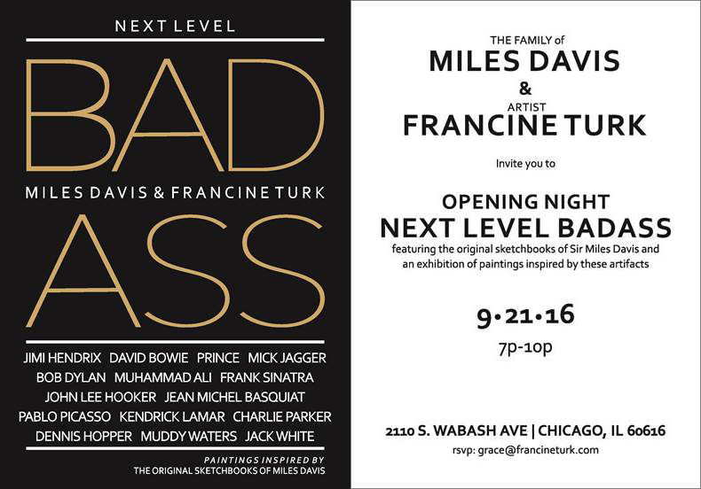 Next Level Badass / Miles Davis & Francine Turk