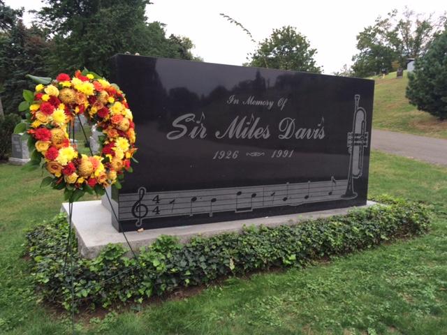 Miles Davis memorial