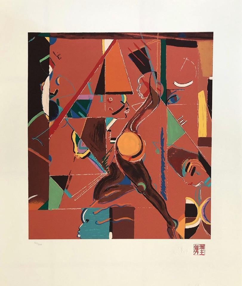 Miles Davis lithograph