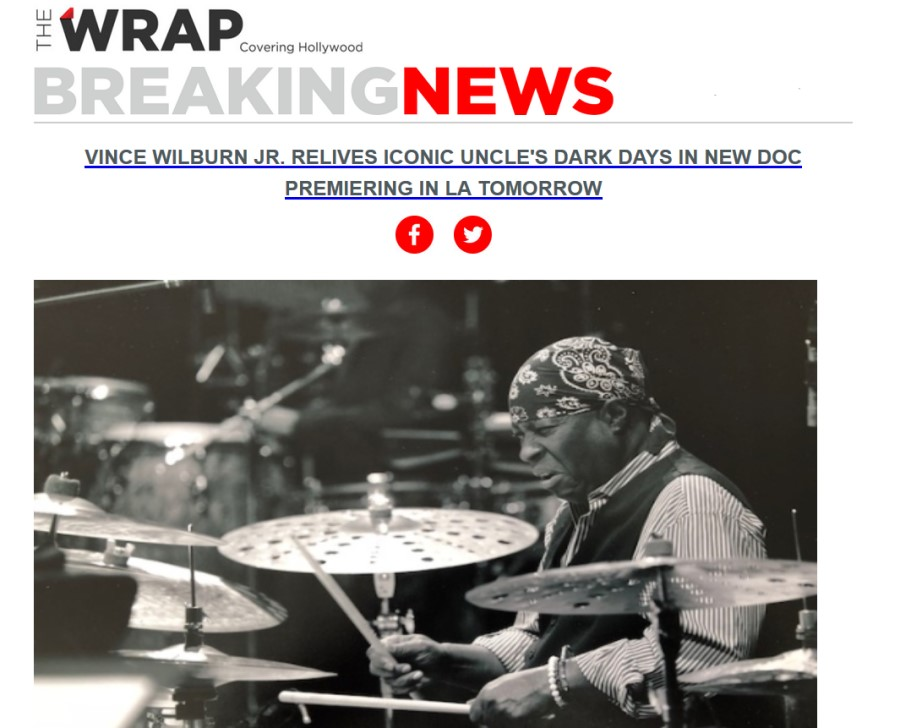 Vince Wilburn, Jr. Miles Davis Birth Of The Cool Documentary in The Wrap 2019