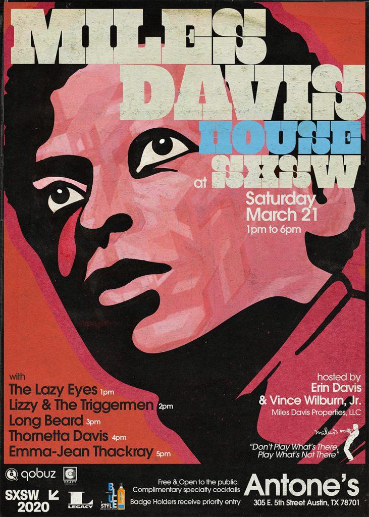 Miles Davis House at SXSW