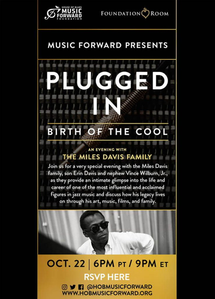 Plugged In: Birth Of The Cool - An Evening With The Miles Davis Family