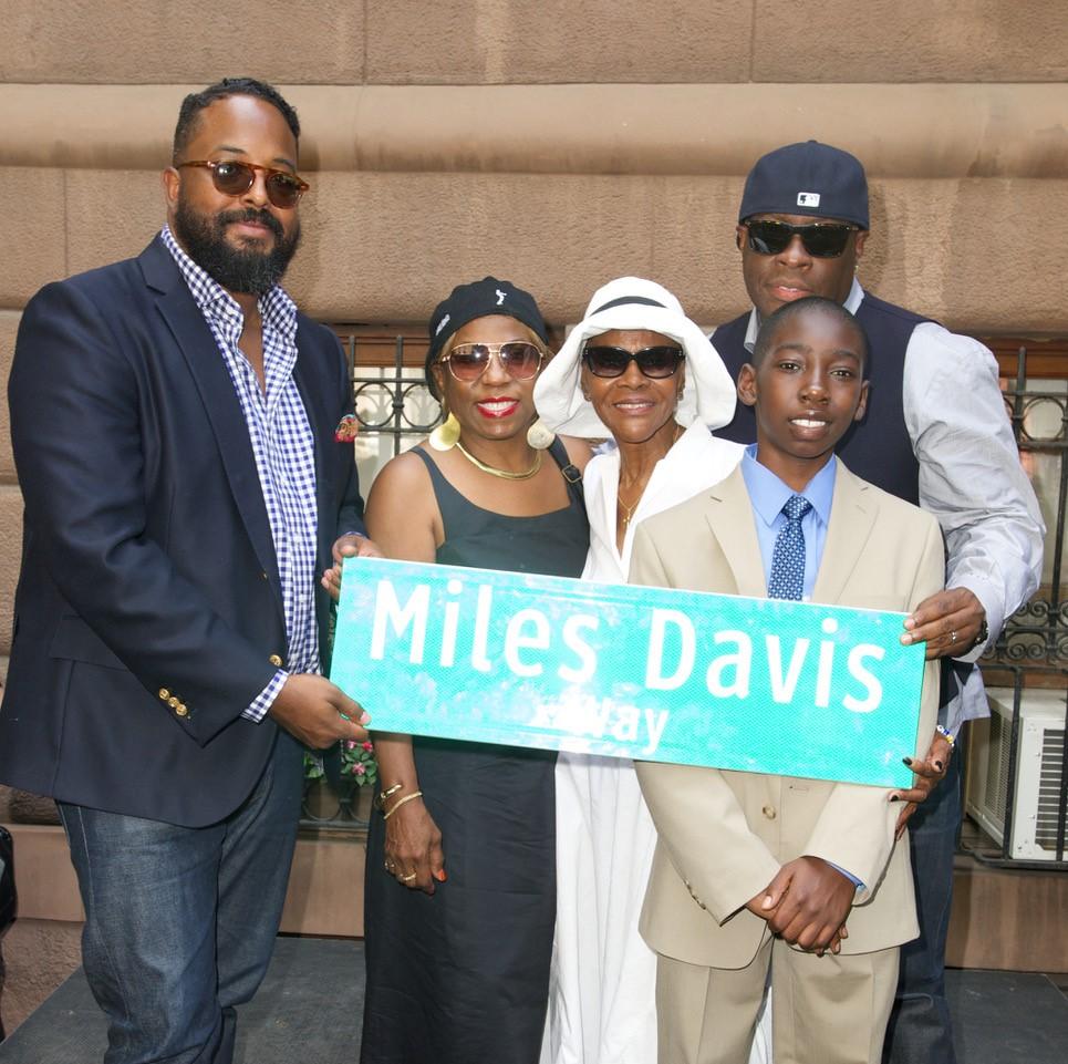 Cicely Tyson and the Miles Davis Family
