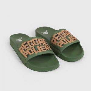 Chinelo Slider Feminino Natiruts Pistache Reggae Power