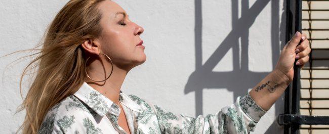 Imagen de la artista de género flamenco NIÑA PASTORI
