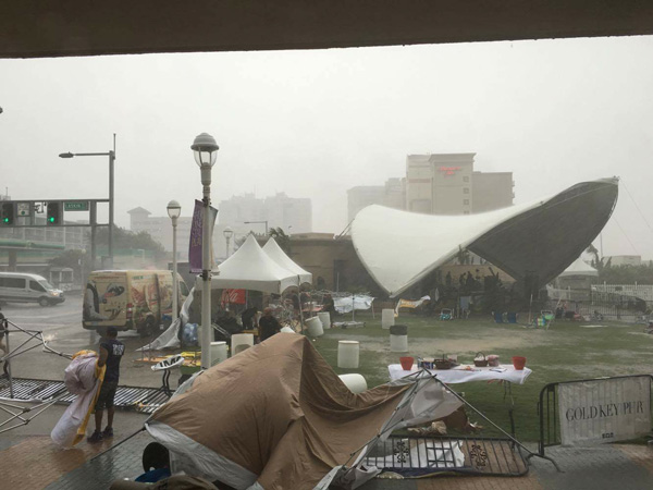 Virginia Beach's 31st Street Stage wrecked by storm