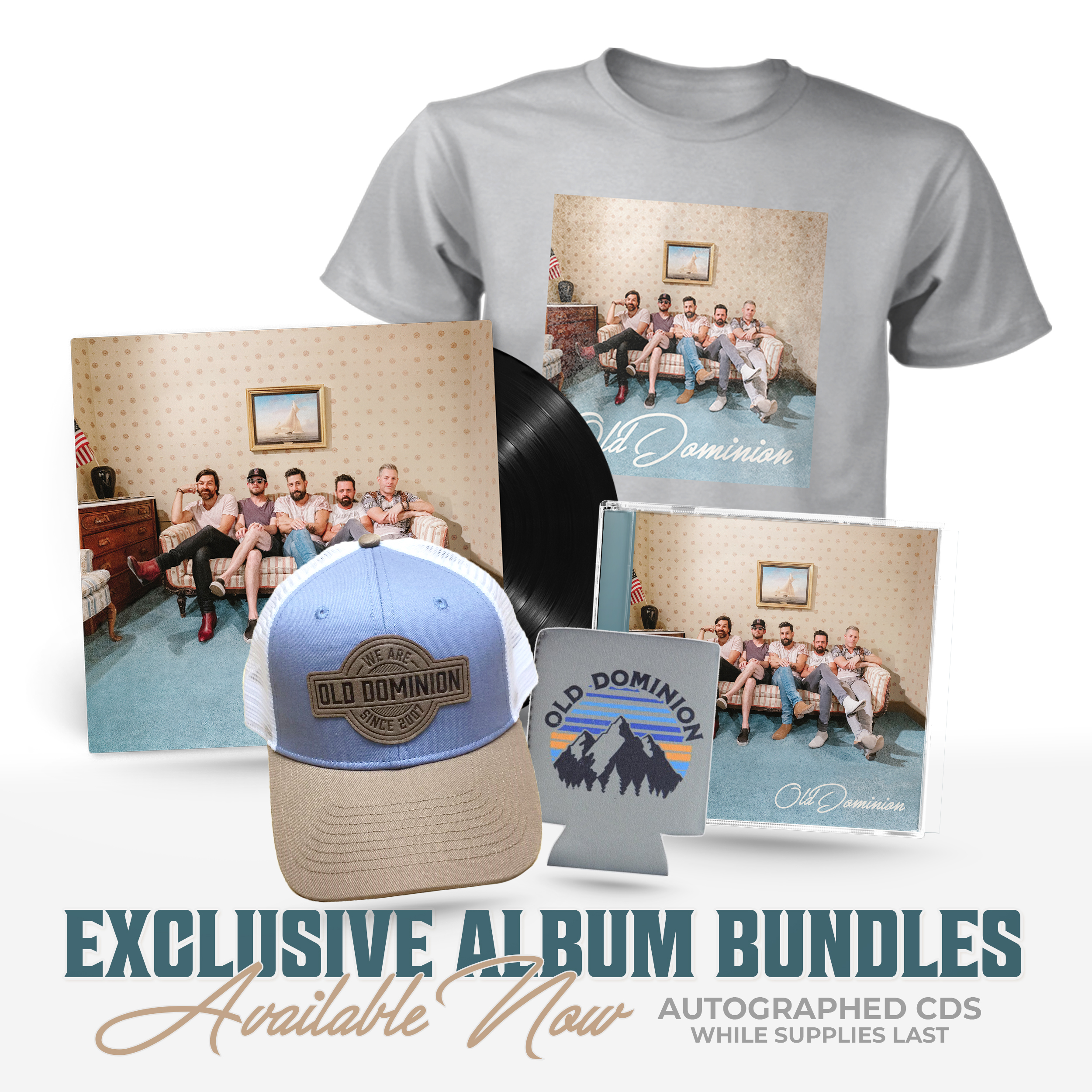 New Album & Exclusive Bundles image