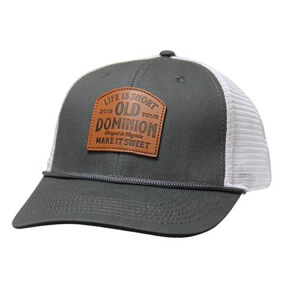 Leather Patch Trucker Hat image