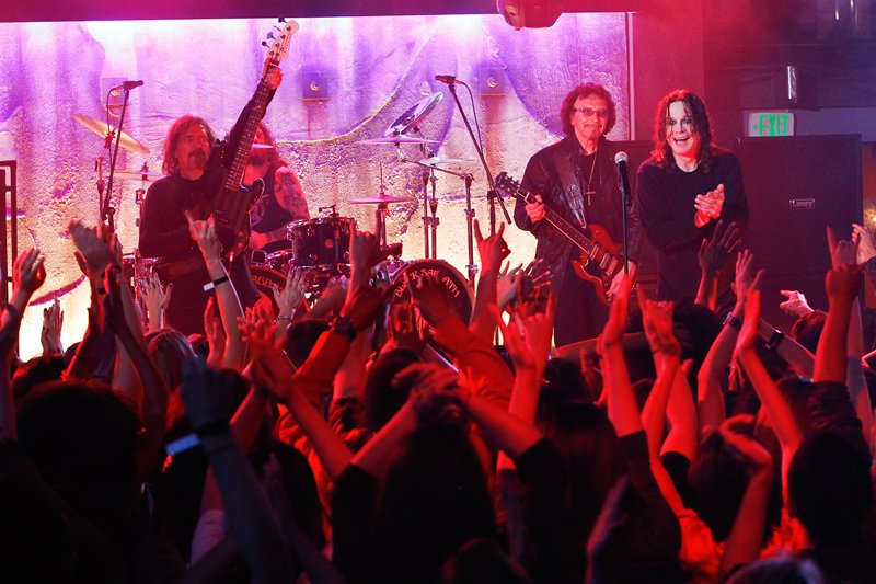 Black Sabbath on CSI