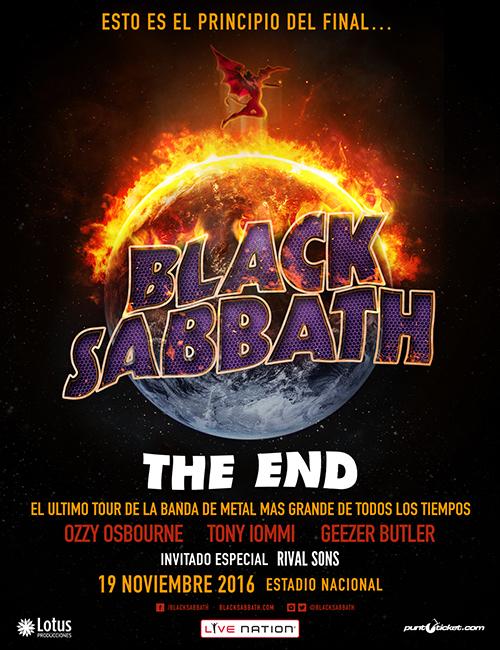Black Sabbath Chile 2016