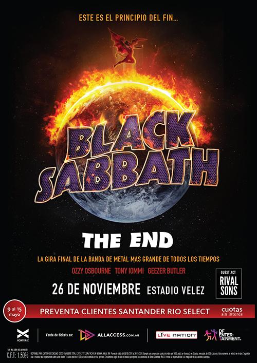 Black Sabbath Buenos Aires 2016