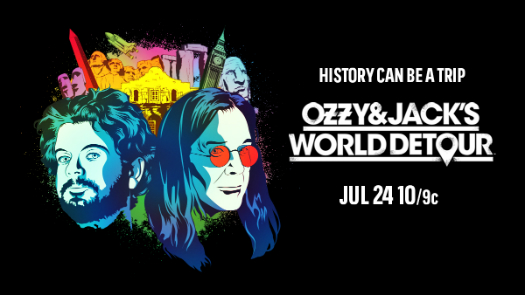 Ozzy & Jack's World Detour on HISTORY