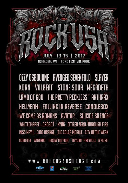Rock USA Oshkosh, WI 2017