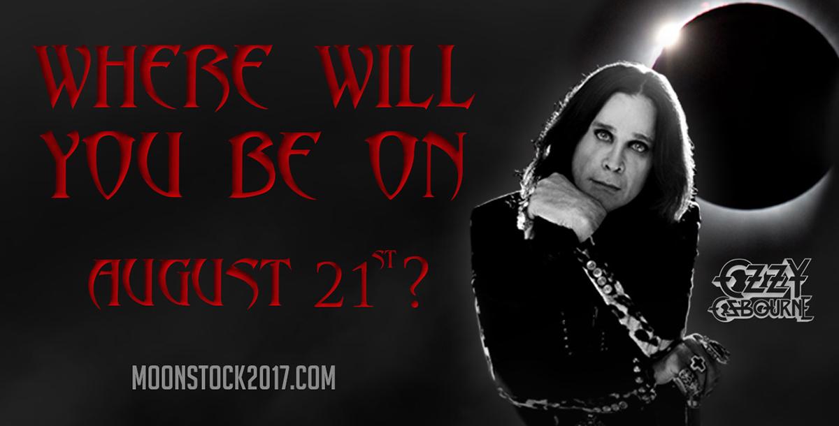Ozzy Osbourne to headline Moonstock 2017