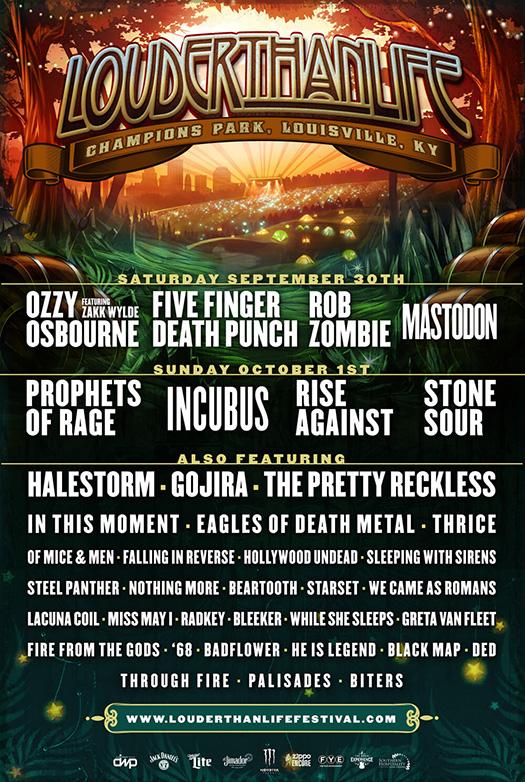 Louder Than Life Festival 2017