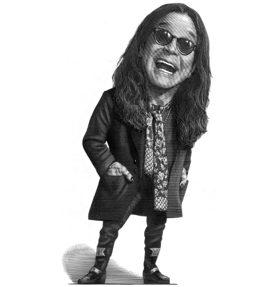 Ozzy Osbourne for Rolling Stone